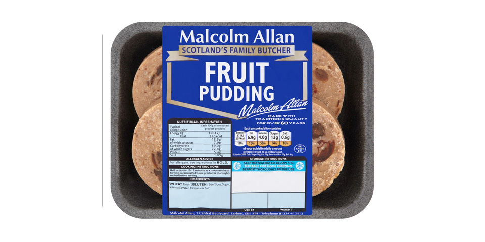 Fruit Pudding