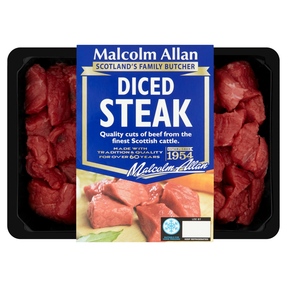 400g diced steak