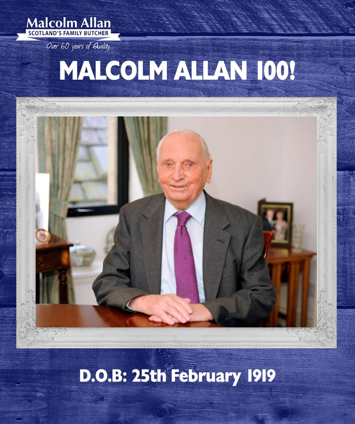 Malcolm Allan News 100 Pies Donated In Honour Of Malcolm
