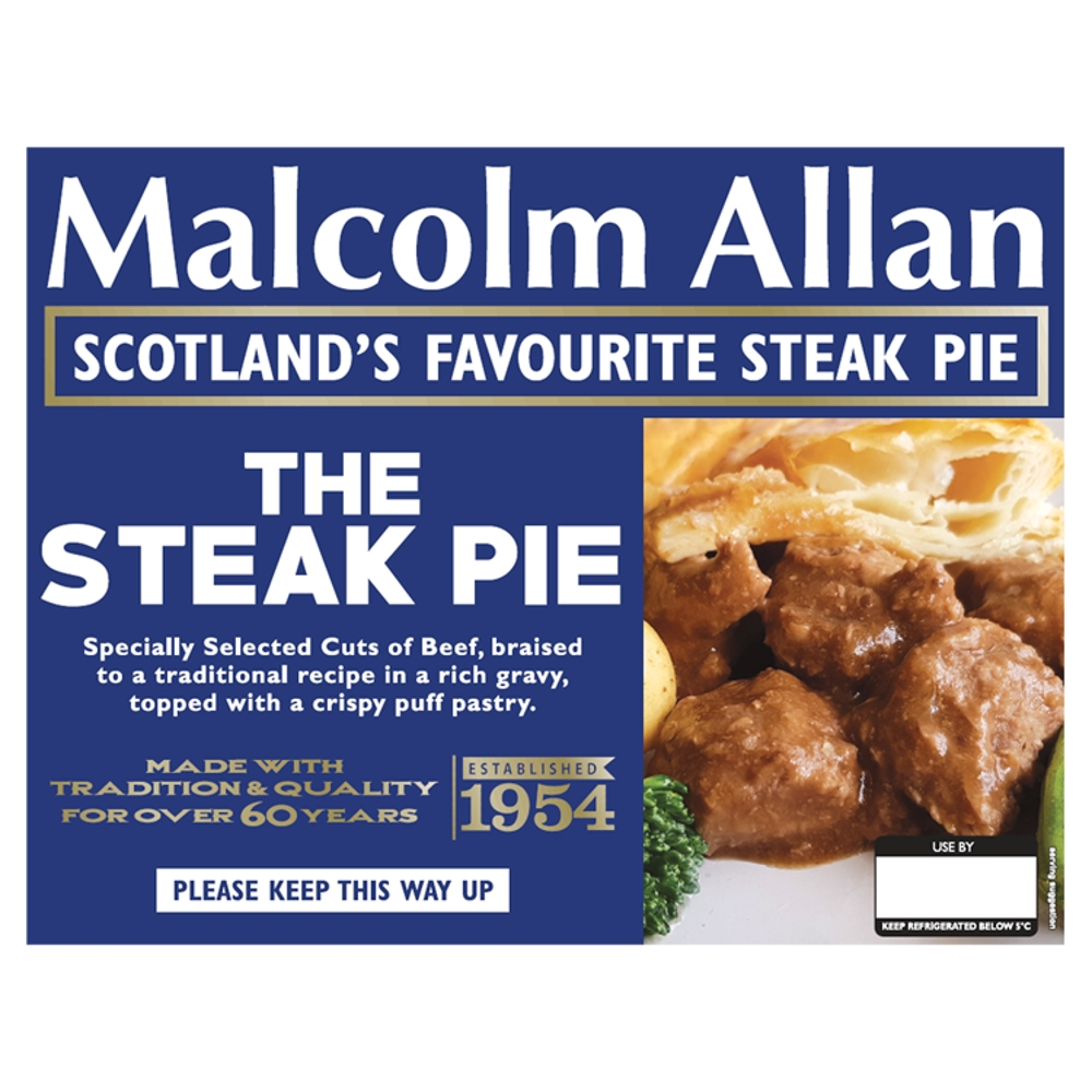 380g steak pie