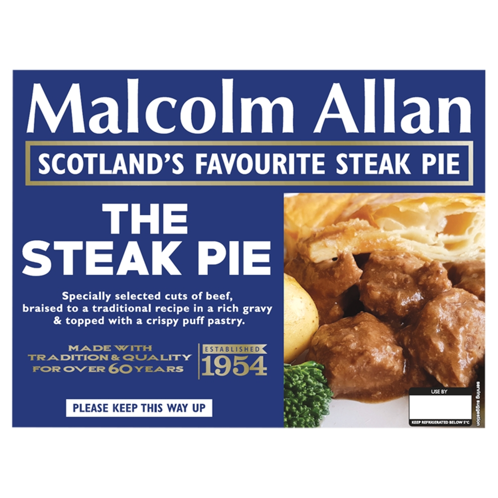 700g steak pie